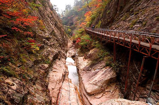 Découvrez le parc national de Seoraksan en Corée du Sud