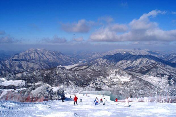 Les 7 meilleures stations de ski et de snowboard en Corée
